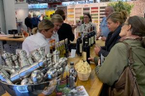 Lo stand di Atastement alla Sthlm Food & Wine